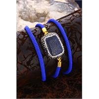 Dr Stone Kadın Lapis Lazuli Bileklik 20Ar291