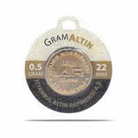 Iar 22 Ayar Külçe Gram Altın 0,5 Gr