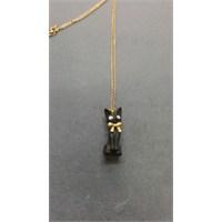 Reis Kuyumculuk Ahşap Kedi Figürlü Kolye