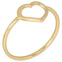 Goldstore 14 Ayar Altın Kalp Yüzük GRF16462