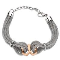 Lochers Kelebek Desenli Çelik Bileklik