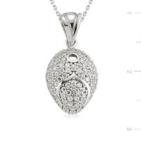 Tekbir Silver 925 Gümüş Zirkon Taşlı Kolye Set101124p