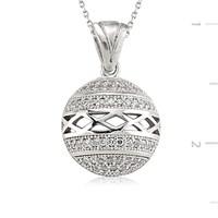 Tekbir Silver 925 Gümüş Zirkon Taşlı Kolye   Set101116p