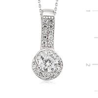 Gumush 925 Gümüş Zirkon Taşlı Kolye Set101112p