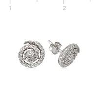 Gumush 925 Zirkon Taşlı Gümüş Küpe | Ea1540001