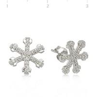 Gumush 925 Zirkon Taşlı Gümüş Küpe Ea1540003