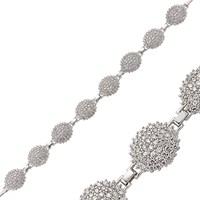 Gumush 925 Zirkon Taşlı Gümüş Bileklik | Br0470158