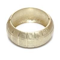 Bigg Hathor Kare Bölme Kelepçe-Altın