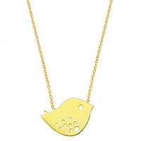 Goldstore 14 Ayar Altın Little Bird Şans Kolye Gp24406