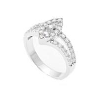 Gumush 925 Gümüş Çoktaşlı Bayan Yüzüğü LRG47138005