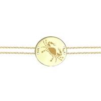 Goldstore 14 Ayar Altın Yengeç Burcu Bileklik Gb23817