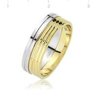 Tekbir Silver 925 Altın Kaplama Alyans WR0820066