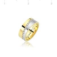 Tekbir Silver 925 Altın Kaplama Alyans WR0820069