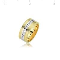 Tekbir Silver 925 Altın Kaplama Alyans WR0820071