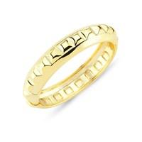 Lochers Altın Kaplama Desenli Bilezik