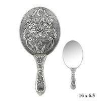 Gumush 925 Gül Motifli El Aynası Kr2550018