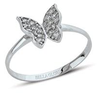 Bella Gloria Altın Kelebek Yüzük (PR78063)