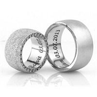 Berk Kuyumculuk Gümüş Alyans 5507 (Çift Fiyatı)