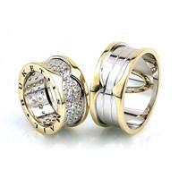 Berk Kuyumculuk Gümüş Alyans 5524 (Çift Fiyatı)