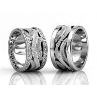 Berk Kuyumculuk Gümüş Alyans 5543 (Çift Fiyatı)