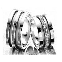 Berk Kuyumculuk Gümüş Alyans 5562 (Çift Fiyatı)