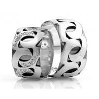 Berk Kuyumculuk Gümüş Alyans 5568 (Çift Fiyatı)