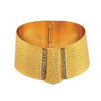 Forentina Altın Kaplama Pullu Bijuteri Bilezik FR0004