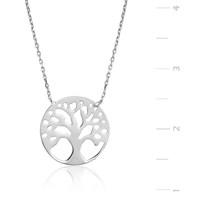 Gumush Gümüş Hayat Ağacı Kolye