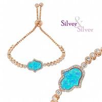 Silver & Silver Fatma'nın Eli Bileklik