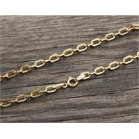 eJOYA 14 Ayar Altın Bileklik Zinciri Zn0070kfm