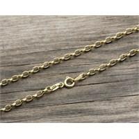 eJOYA 14 Ayar Altın Bileklik Zinciri Zn0060m