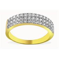 Melis Gold Altın Taşlı Yüzük Ay0000142