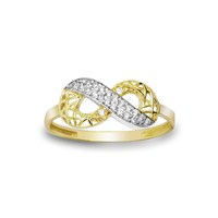 Melis Gold Sonsuzluk Yüzük Ay0000205