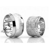 Berk Kuyumculuk Gümüş Alyans 5589 (Çift Fiyatı)