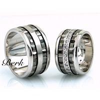 Berk Kuyumculuk Gümüş Alyans 5591 (Çift Fiyatı)