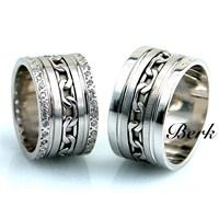 Berk Kuyumculuk Gümüş Alyans 5592 (Çift Fiyatı)