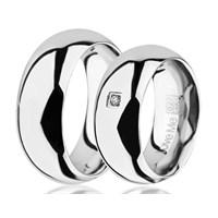 Berk Kuyumculuk Çelik Alyans LM-027W (Çift Fiyatı)