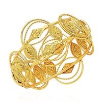 Forentina Altın Kaplama Kelepçe Bilezik FR0048