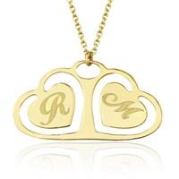 Goldstore 14 Ayar Altın Harf Kalp Figürlü Kolye Gp38366