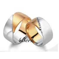 Berk Kuyumculuk Gümüş Alyans 5608 (Çift Fiyatı)