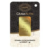 IAR 24 Ayar Külçe Gram Altın 5 Gr. - Aynı Gün kargo