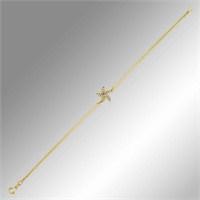 Sheamor Deniz Yıldızı Altın Bileklik