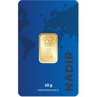 Nadir Gold 24 Ayar Külçe Gram Altın 10 Gr. - Aynı Gün Kargo 1.583,77 TL