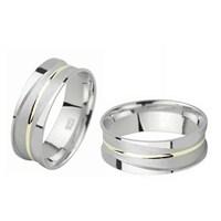 Ejoya Gümüş Çift Alyans C1026