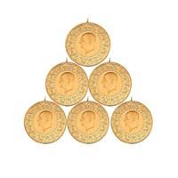 6´lı Çeyrek Altın Paketi Eski Tarihli - Aynı Gün Kargo Avantajı