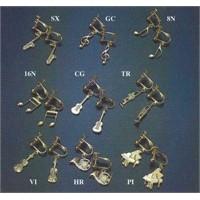 Gümüş - Altın Kaplama Enstrümanlı Küpe Çeşitleri (35 Mm, 8-12 Gr)