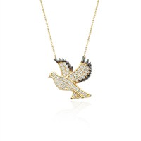 Glorria 14 Ayar Altın Güvercin Kolye