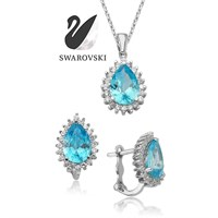 Zirkon London Blue Anturaj İkili Set