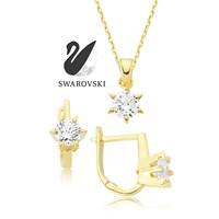 Swarovski Star İkili Set
