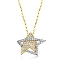 Goldstore 14 Ayar Altın Yıldız Kolye Gp39048